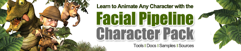 Facial Pipeline Character Pack