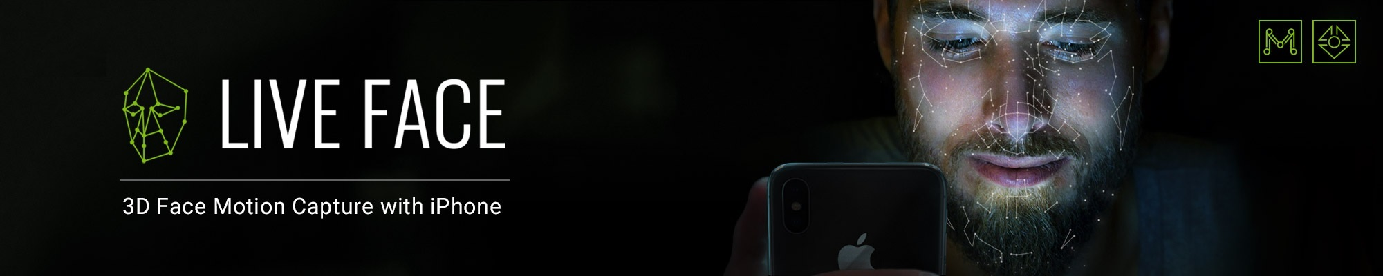 iClone Motion LIVE - LIVE FACE (iPhone X)