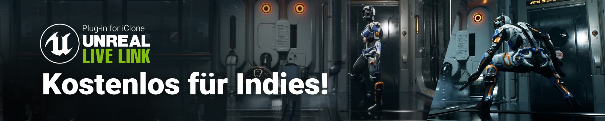 iClone Unreal Live Link - Kostenlos für Indies