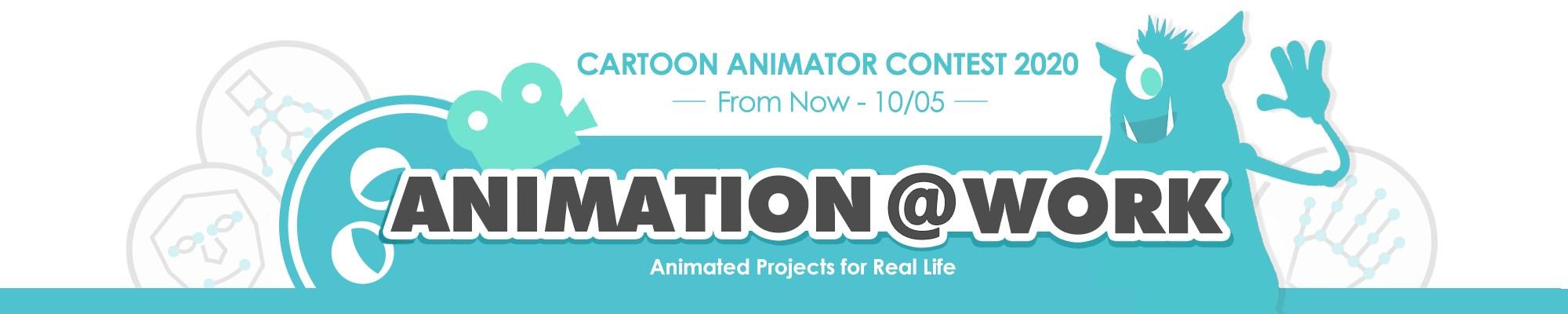 Cartoon Animator Contest 2020 - Animation@Work