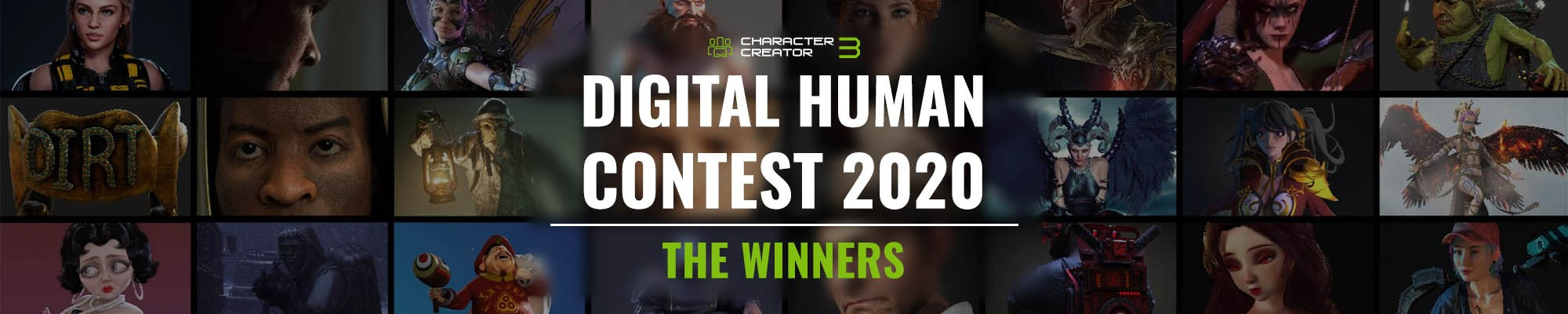 Winners of CC Digital Human Contest 2020