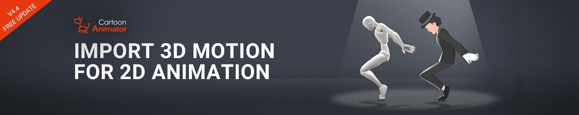 CTA4.4 - 3D to 2D Motion Converter