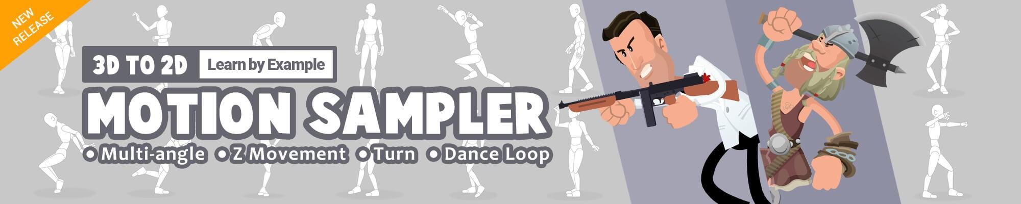 CTA - 3D to 2D Motion Sampler Pack