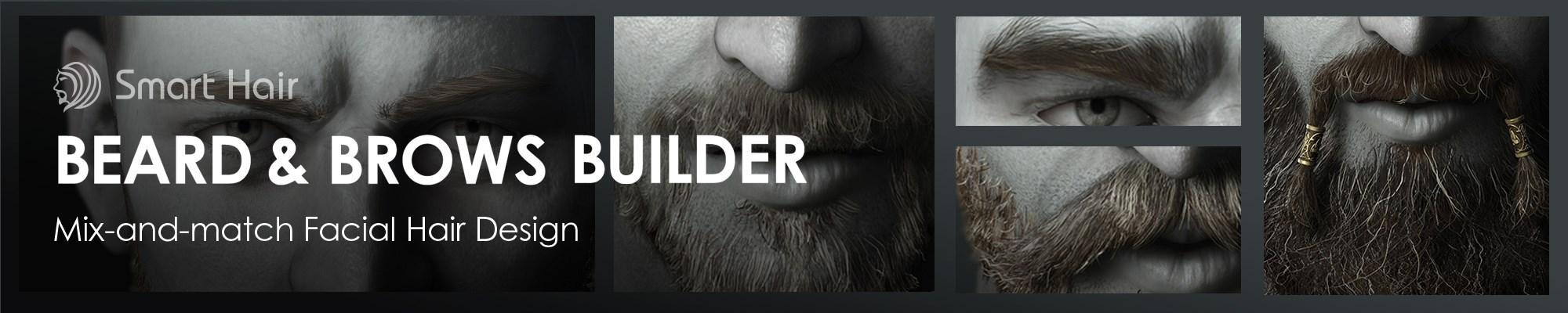 Beard & Brows Builder - Mix-and-match Facial Hair Design