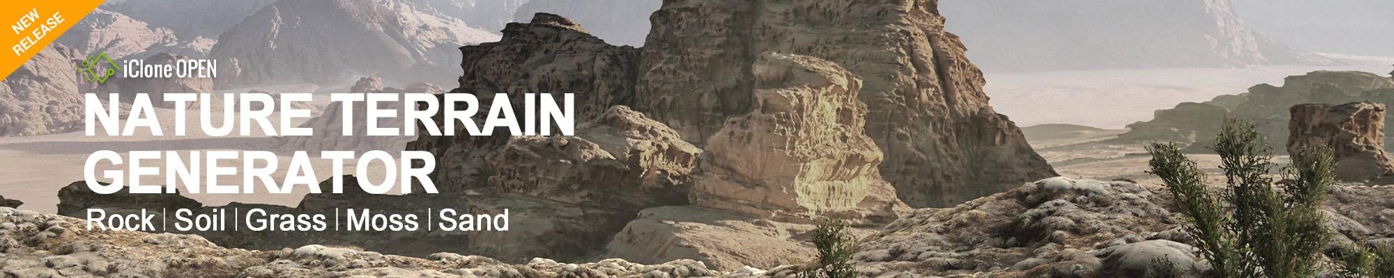 Nature Terrain Generator - Create Your Own Limitless Photorealistic Terrains