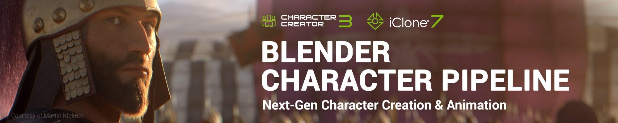 CC Blender Character Pipeline