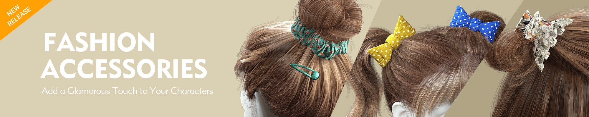 Fashion Accessories - Add Glamorous Touch to Your Characters