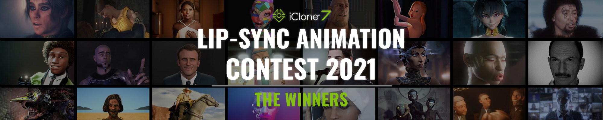 iClone Lip-sync Animation Contest 2021 - Winners