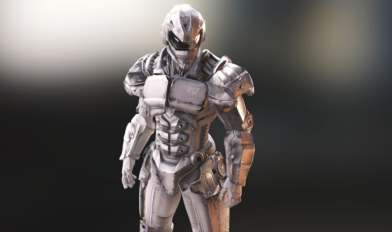 Battle Mech Series - Brute Armor Male