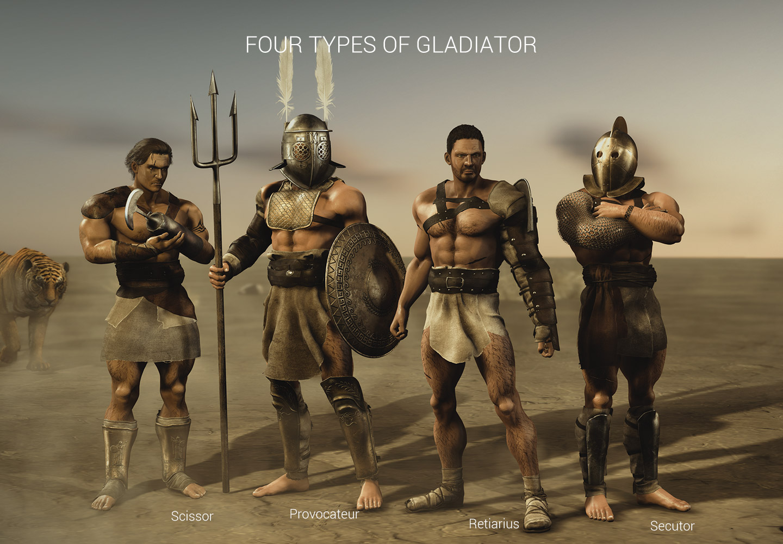 gladiator vol 1