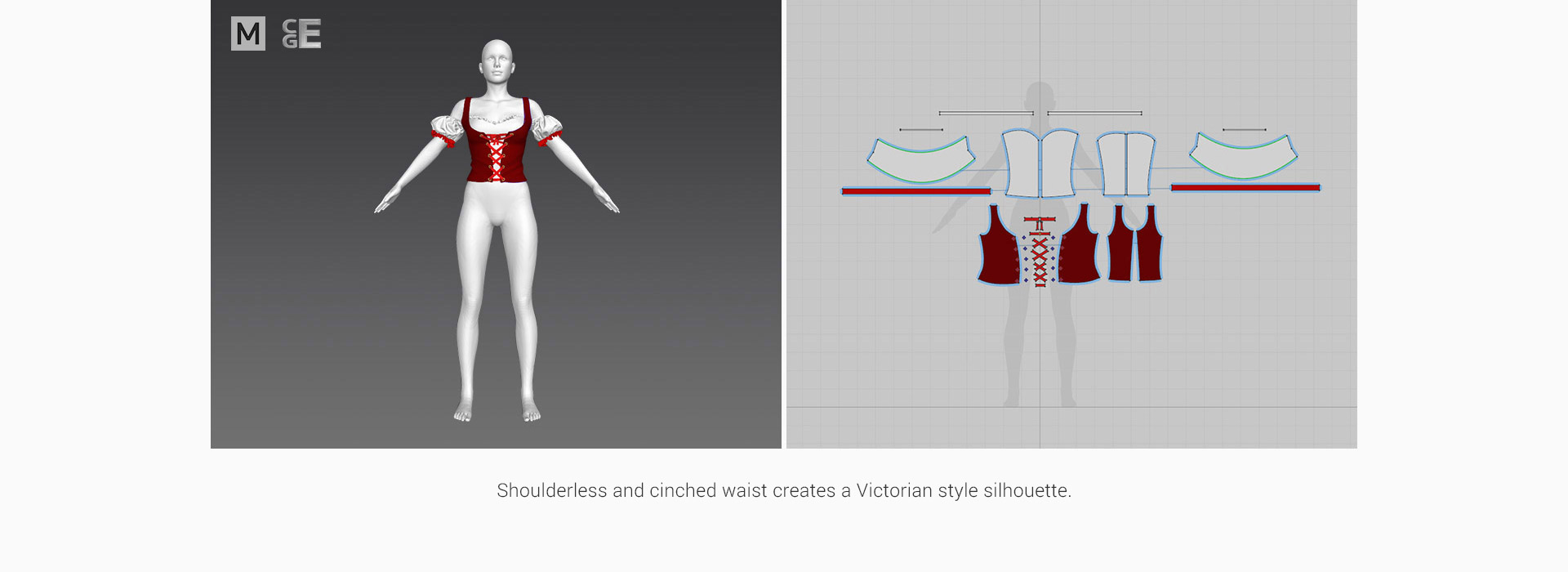 Street Fashion Cloth Base - Marvelous Designer Select Series