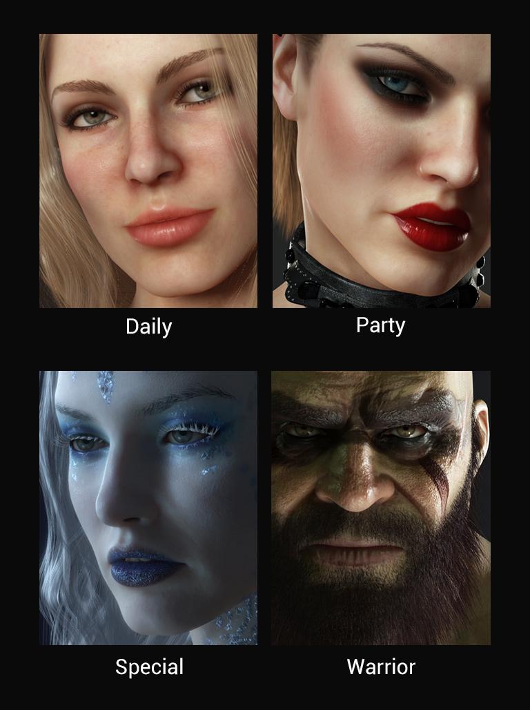 Makeup Sfx Character Creator