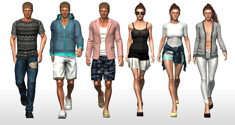 Character Creator Cc Essential Clothing Fabric