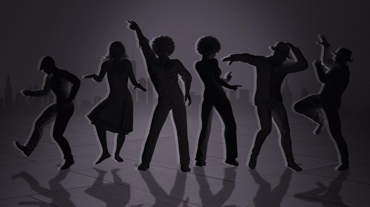 Studio Mocap : Evolution of Dance vol 1 - 60s, 70s, 80s