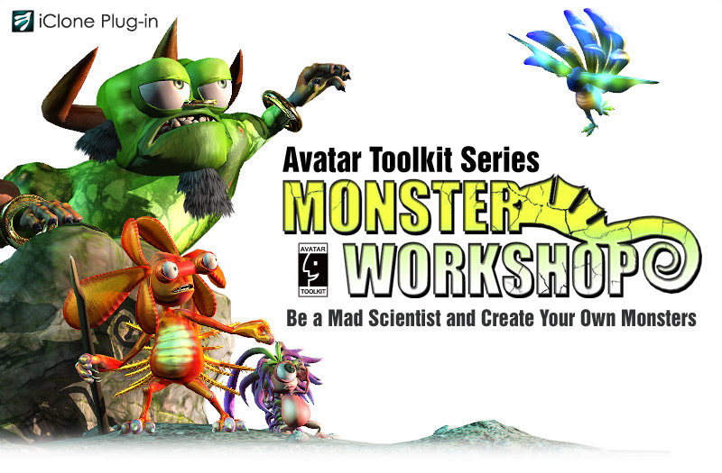Monster Workshop - Avatar Toolkit Series - Create and