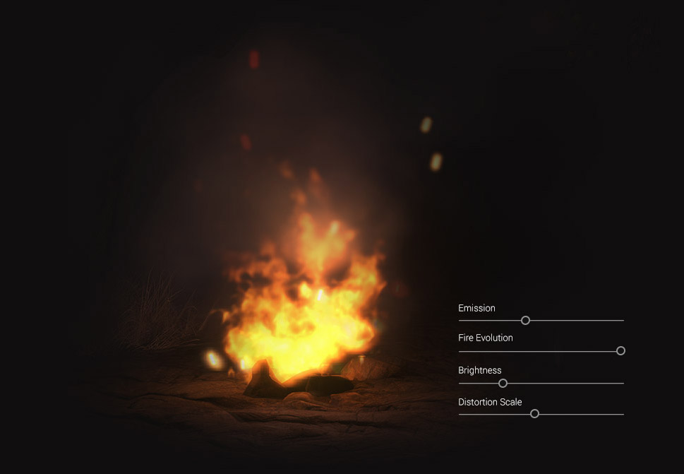Particle Effects - PopcornFX Library 40 for iCone - Reallusion