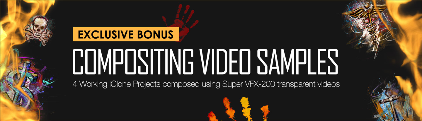 popVideo Content Pack - Super VFX 200