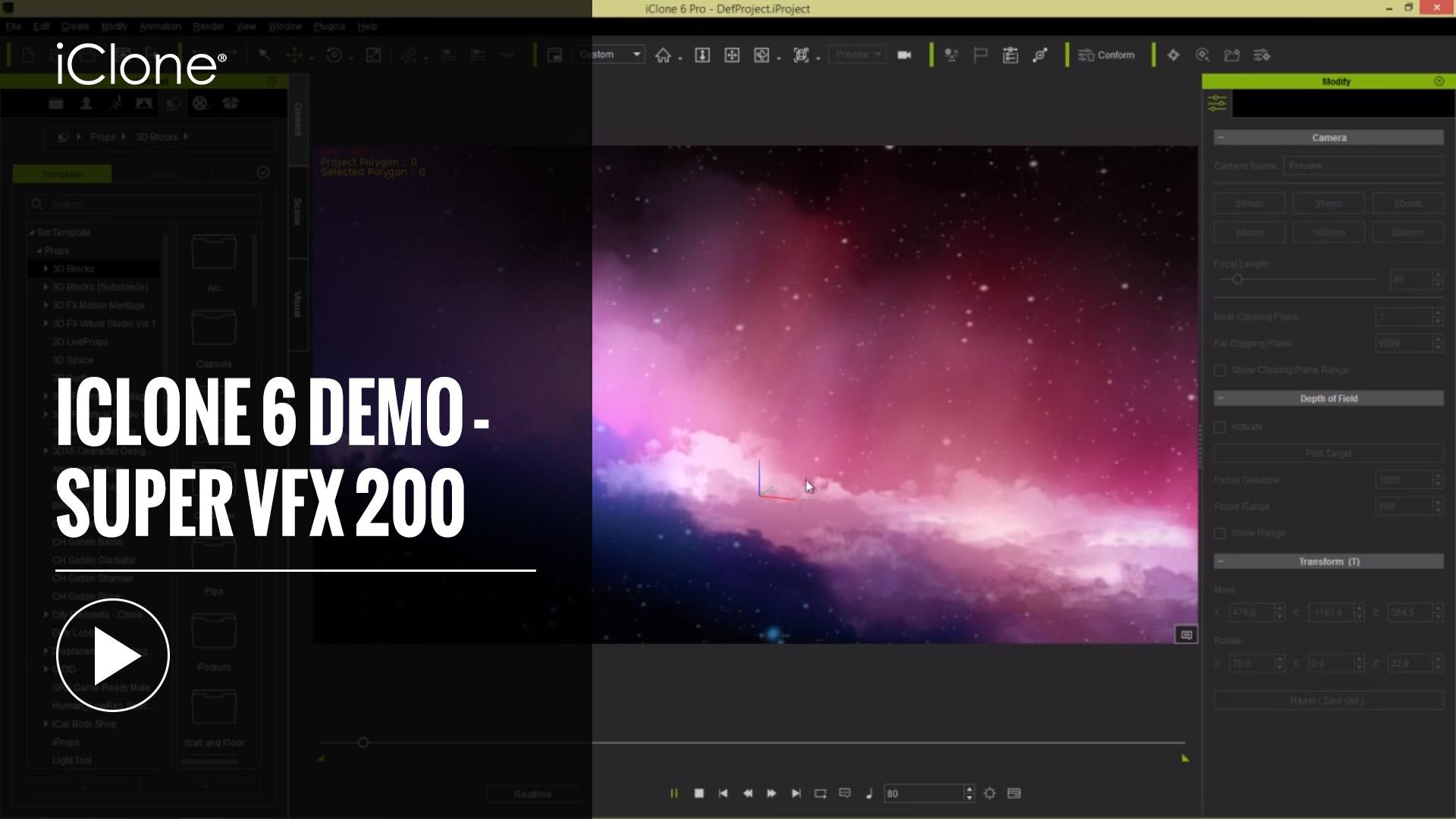 popVideo Content Pack - Super VFX 200