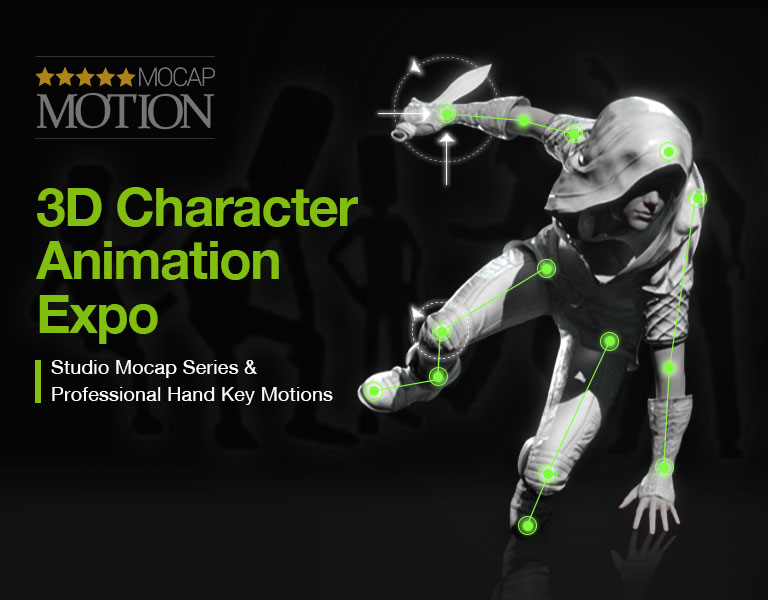3D Character Animation Expo