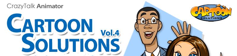 crazytalk animator cartoon solutions combo vol 4