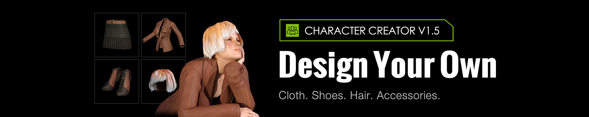 Character Creator - Create Your Own Outfit