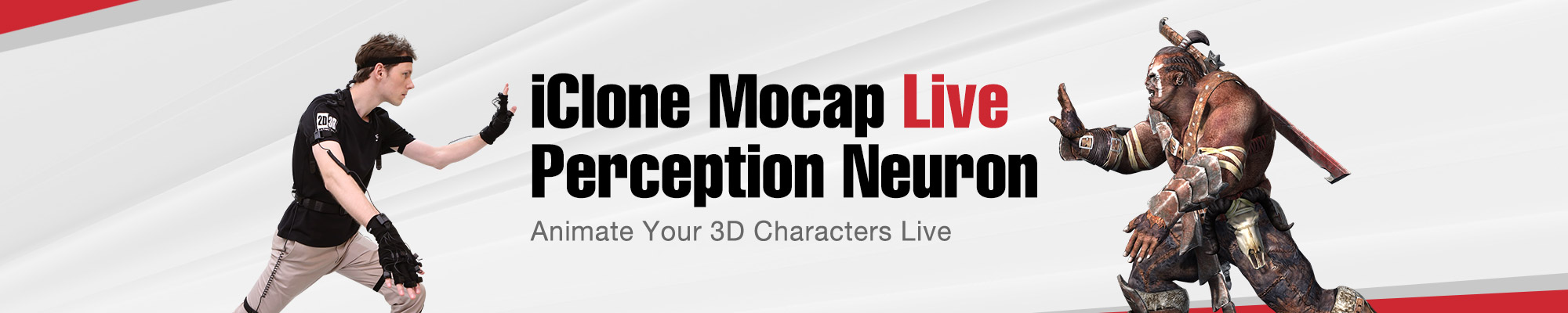 iClone Mocap Live for Perception Neuron