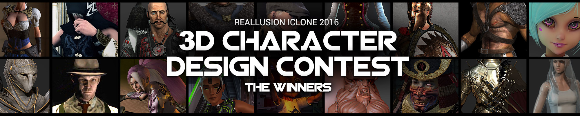iClone 3D Character Design Contest - The Winners!