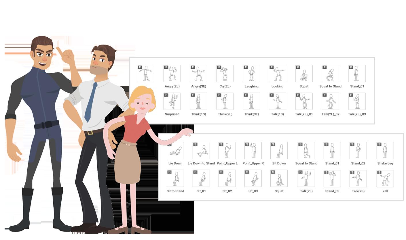 Cartoon Animator 4 - Character Creation