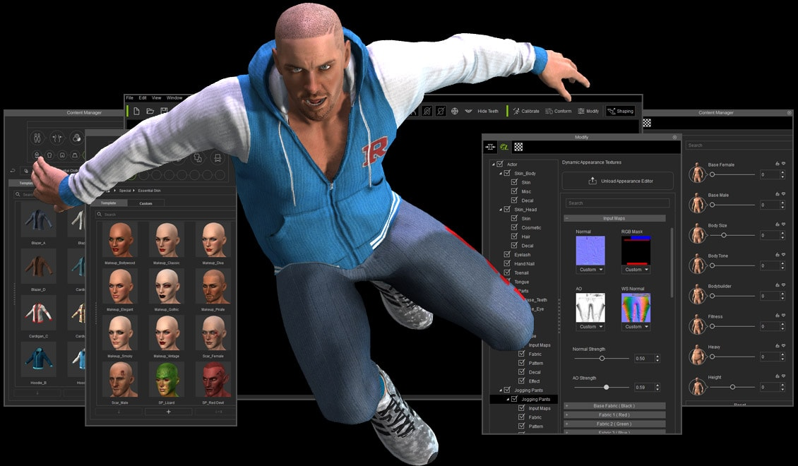 Character Creator Design Unlimited 3d Characters Iclone