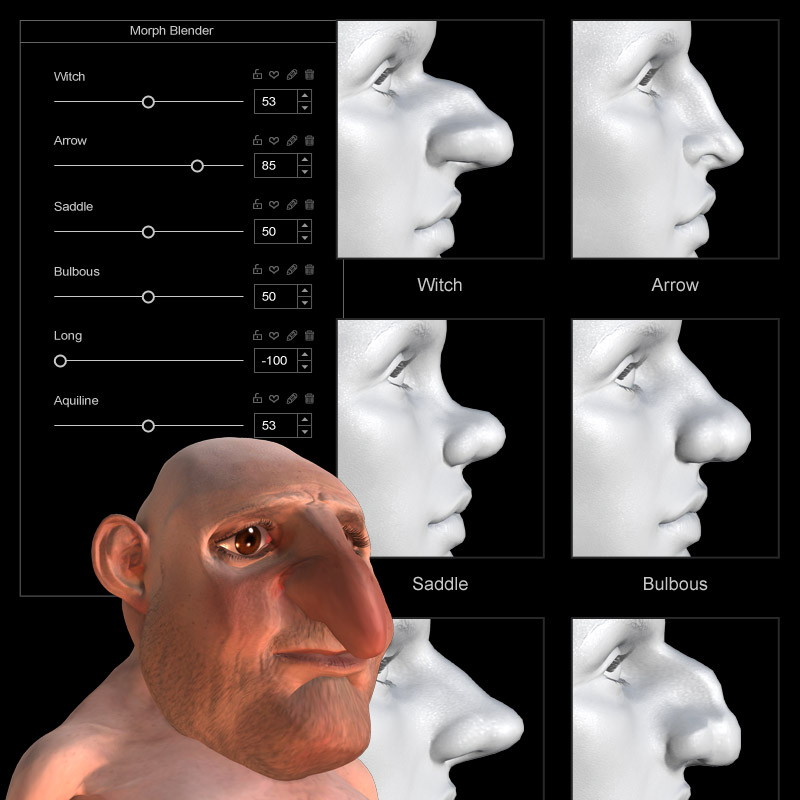 Create Your Own Morphable Character Character Creator