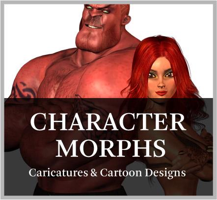 download 3d cartoon characters