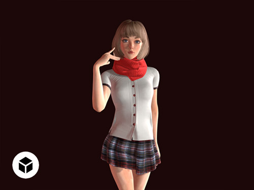 3d Characters For 3d Real Time Engines Character Creator
