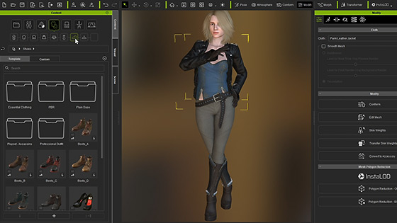 Daz & Poser 3D Characters for Animation and Game - Character