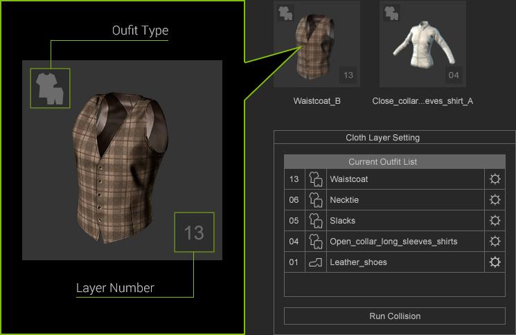 Character Creator - Custom Outfits