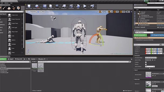 3D Characters for 3D Real-time Engines - Character Creator