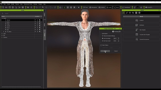 Character Creator - 3D Game Pipeline
