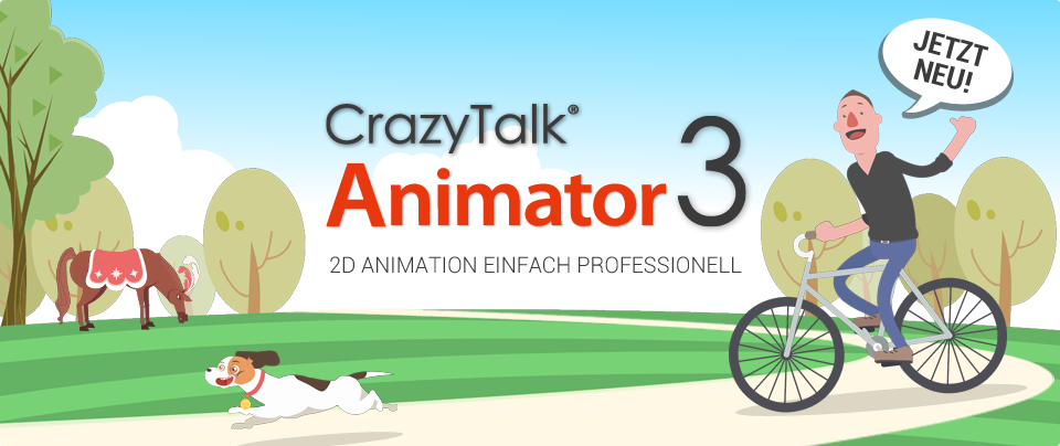 Neu: CrazyTalk Animator 3