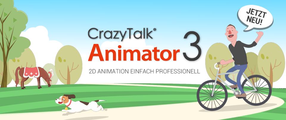 Neu: CrazyTalk Animator 3