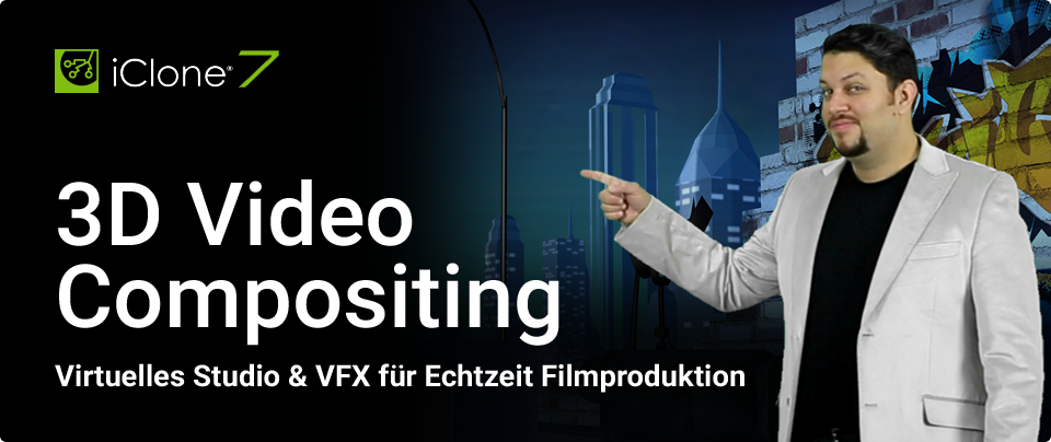 3D Video Compositing