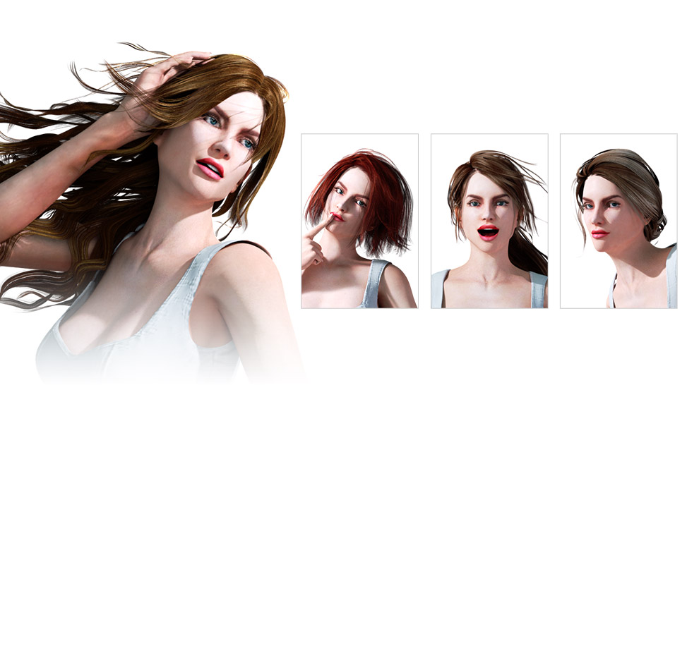 Iclone Content Pack G6 Hair Accessory