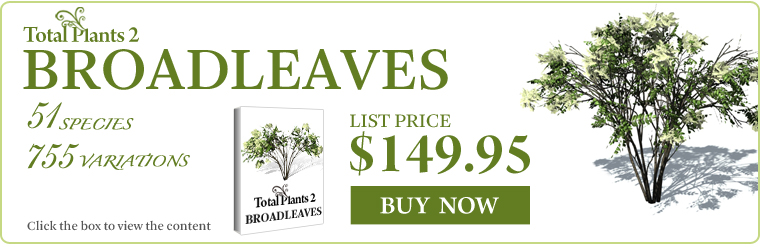 iClone content - Total Plants 2 - Botanical World - 3d model