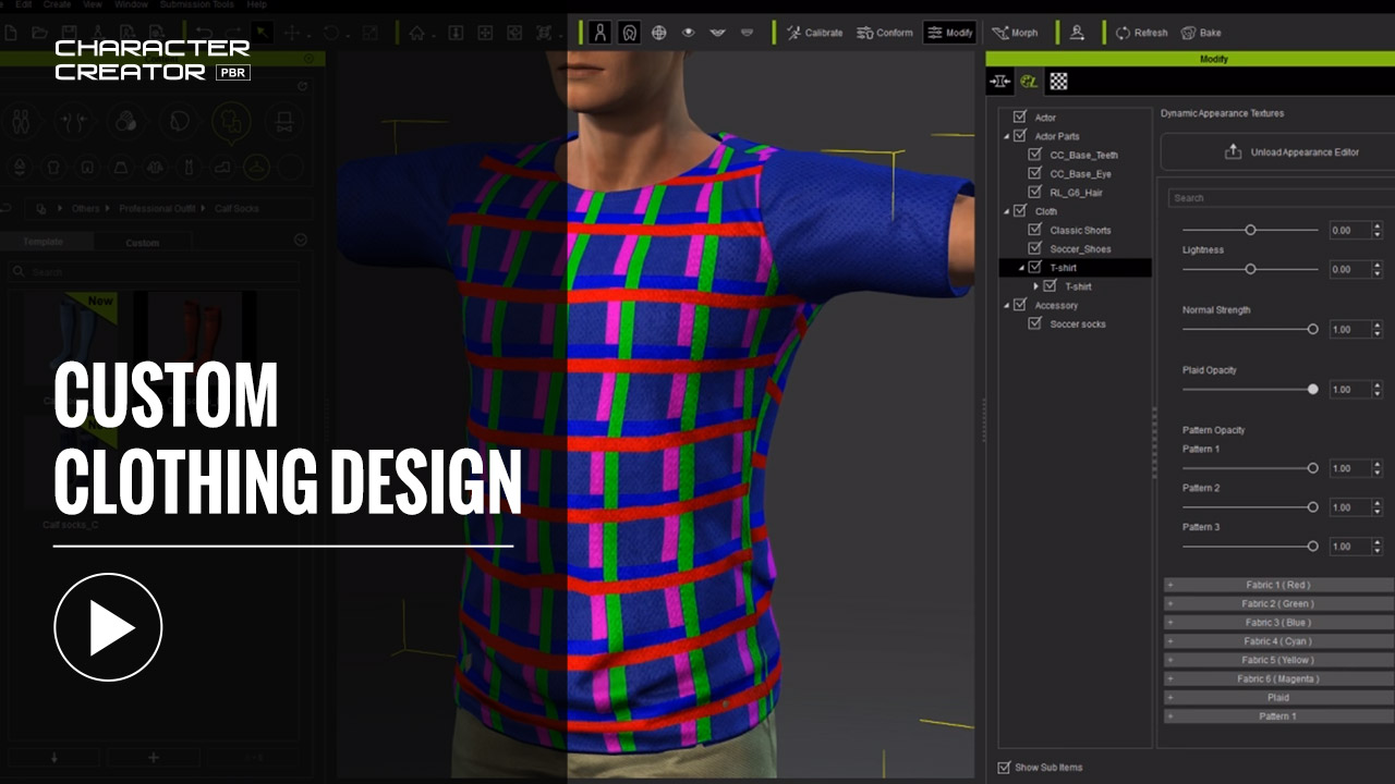 Custom Clothing Design   3d Clothing Professional Outfits For 3d Character