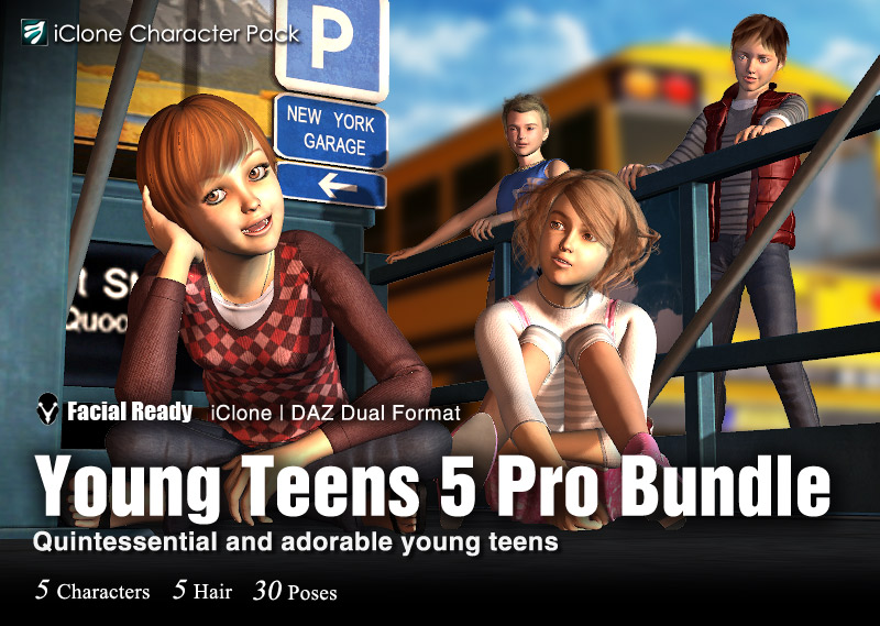DAZ Young Teens5 Pro