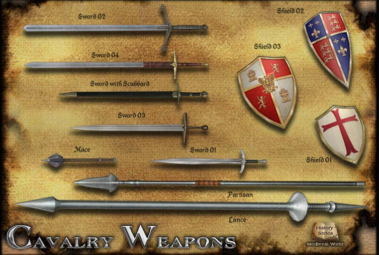 cavalry weapons