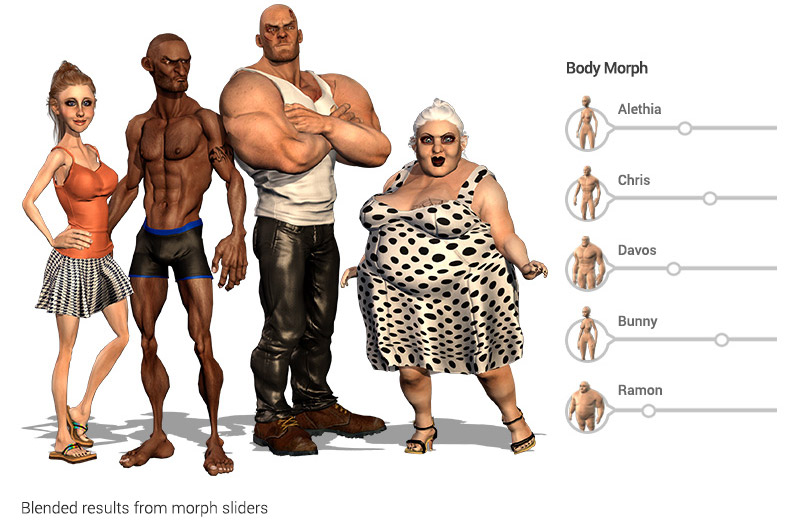 Creative Character Design Pdf Download : Character creator content pack stylized morphs