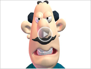 Famous Toons Facial Videos
