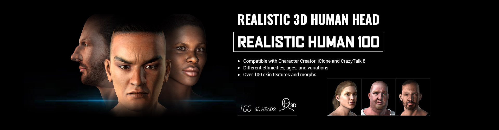 3D Character Creation - Reallusion Content Store