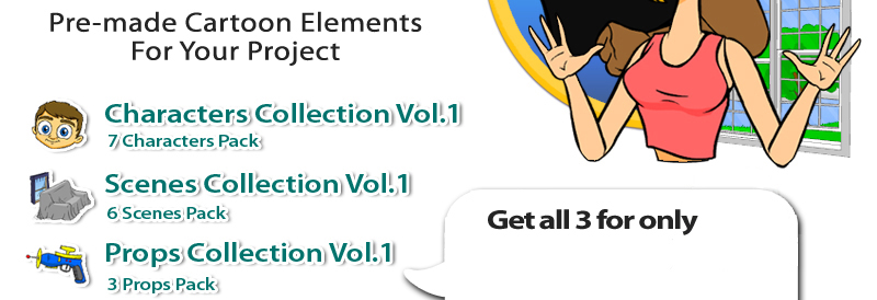 crazytalk animator cartoon solutions combo