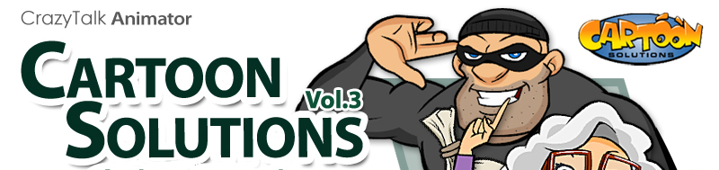 crazytalk animator cartoon solutions combo vol 3