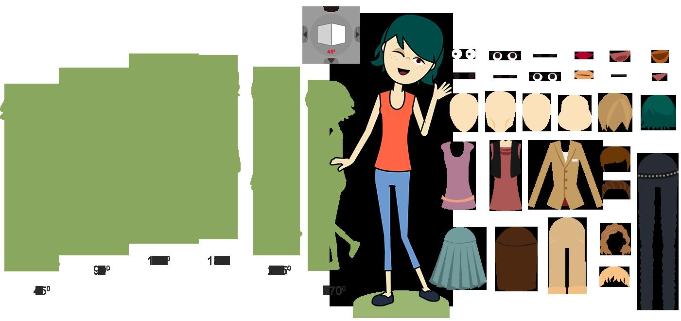 crazytalk animator 3 character creation